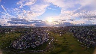FPV - Speedy Windy Beautiful Sunset