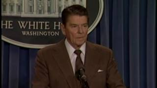 President Reagan's Press Briefing On The Achille Lauro Hijacking On October 11, 1985