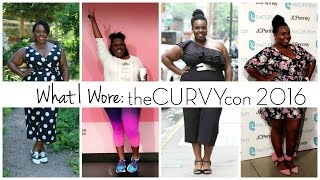 What I Wore: #theCURVYcon 2016 | JCPenney, Eloquii, Deb Shops