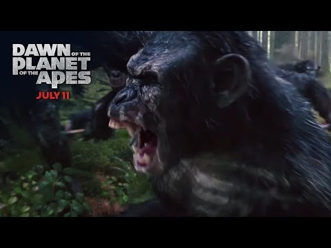 Dawn of the Planet of the Apes TV Spot 'War Has Begun'