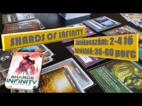 Shards of infinity társasjáték szabály - János György