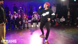 BRO BOMB vs JUMI LITE AllStyles Final ARMS vol.1 2015 | YAK BATTLES