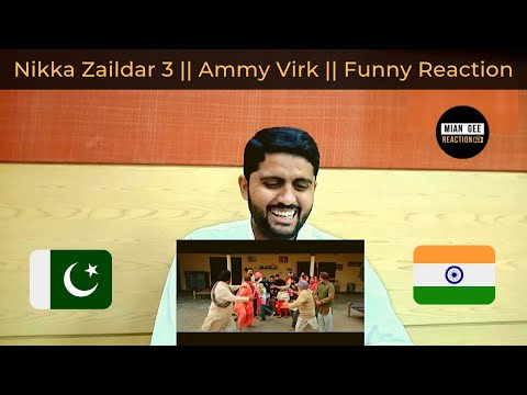 Nikka Zaildar 3 || Official Trailer || Ammy Virk || Full Punjabi Movie 2019 || Mian G Reaction TV