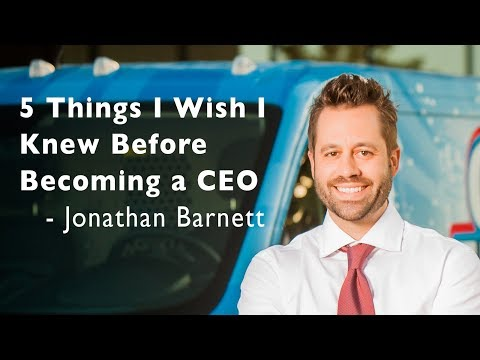 Jonathan Barnett of Oxi Fresh Carpet Cleaning – 5 Key Business Lessons