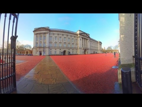 Google unveils virtual tour of Buckingham Palace