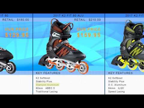 Video: 2017 K2 Mens Inline Skate Buying Guide by InlineSkatesDotCom