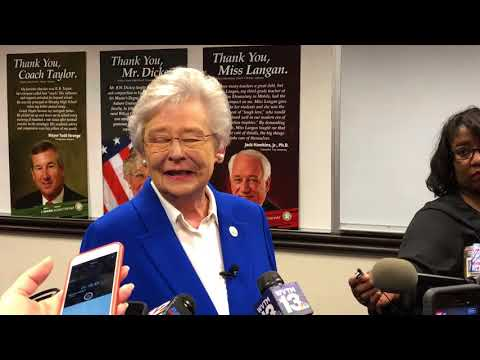 Alabama Gov. Kay Ivey on selection of Eric Mackey as state superintendent