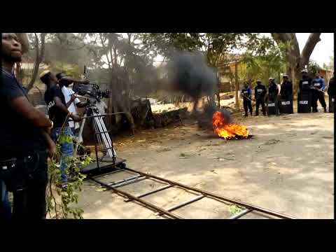 """BADAMASI:- Portrait Of A General"" Behind The Scene! (A Must Watch!)"