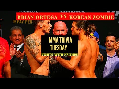Korean Zombie vs Brian Ortega in South Korea, Stephen and Yair face off in Hotel and Trivia!