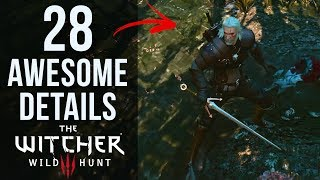 28 AWESOME Details in The Witcher 3: The Wild Hunt