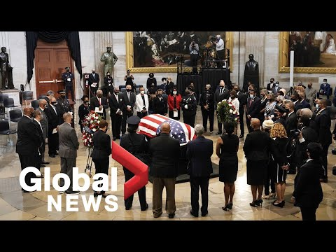 John Lewis: Solemn ceremony held for late civil rights icon at the Georgia State Capitol   FULL
