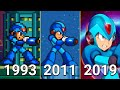 Evolution Of Mega Man X Games 1993 2019
