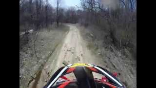 preview picture of video 'Dirt Biking in Kittanning, Pa. Pt. 1'