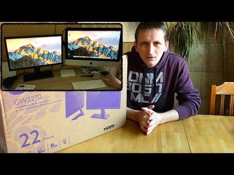 BenQ Monitor GW2270H - Der neue Monitor an der Seite des iMac´ ( deutsch )