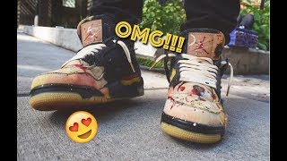 the best attitude acab9 b7719 how to customize jordan 4 x levis - Free video search site ...