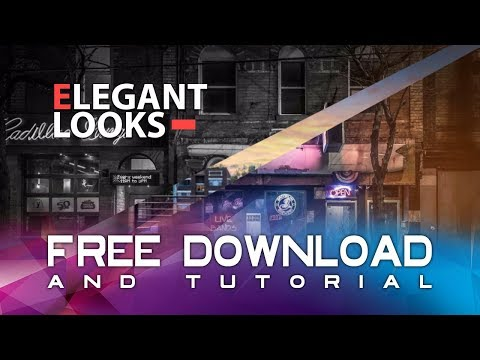 After effects / Elegant Slideshow / template free download