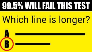 99.5% OF PEOPLE WILL FAIL THIS MIND TEST (If You Solve 9/10 You Are a Genius!)