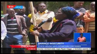 Baringo residents hold demos to protest on the increased insecurity in the region