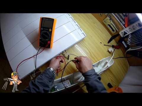 Partes y Fallas Radiador Electrico Calor Azul