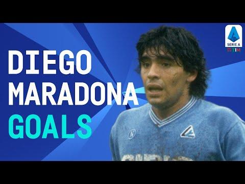 #CiaoDiego – Diego Maradona's Top Goals | Serie A TIM