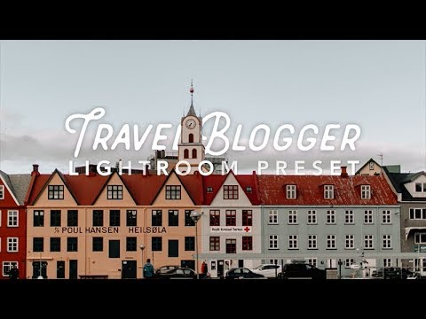 How to Edit Like a Travel Blogger | FREE Lightroom Preset