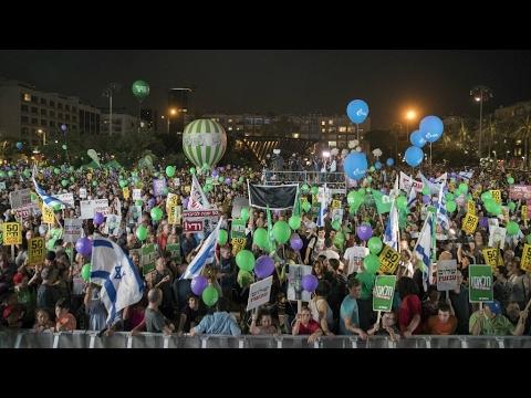 آلاف الإسرائيليين يؤيدون حل الدولتين