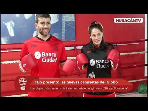 TBS presentó las nuevas camisetas del Globo
