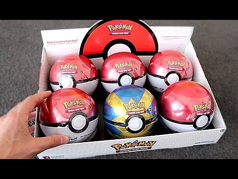 NEW Pokemon TCG Poke Ball Tins!!!!