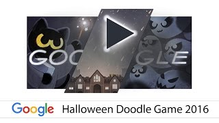 Google Doodle - Halloween Game 2016  SUBH SHANIWAR (SATURDAY) PHOTO GALLERY   : IMAGES, GIF, ANIMATED GIF, WALLPAPER, STICKER FOR WHATSAPP & FACEBOOK #EDUCRATSWEB