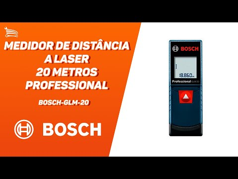 Medidor de Distância a Laser 20 Metros Professional - Video