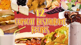How to Make 12 Copycat Restaurant Recipes | Super Compilation | Well Done