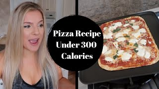 LOW-CALORIE PIZZA RECIPE | UNDER 300 CALORIES