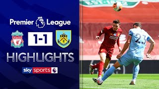 SUBSCRIBE ► http://bit.ly/SSFootballSub PREMIER LEAGUE HIGHLIGHTS ► http://bit.ly/SkySportsPLHighlights Liverpool went ahead through a header from Andy Robertson but a second-half strike from Jay Rodriguez earned the visitors a hard-fought draw.  Watch Premier League LIVE on Sky Sports here ► http://bit.ly/WatchSkyPL ►TWITTER: https://twitter.com/skysportsfootball ►FACEBOOK: http://www.facebook.com/skysports ►WEBSITE: http://www.skysports.com/football  MORE FROM SKY SPORTS ON YOUTUBE: ►SKY SPORTS CRICKET: https://bit.ly/SubscribeSkyCricket ►SKY SPORTS BOXING: http://bit.ly/SSBoxingSub ►SOCCER AM: http://bit.ly/SoccerAMSub ►SKY SPORTS F1: http://bit.ly/SubscribeSkyF1