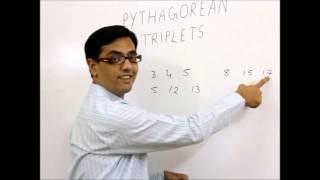 Pythagorean Triplets- Amazing Trick