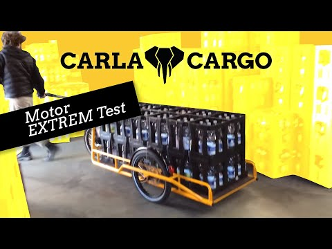 Carla Cargo Power Bike Trailer 2018 Praxistest Lastenanhänger