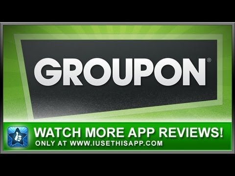 Groupon iPhone App – Shopping iPhone App – App Reviews