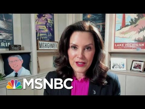 Gov. Whitmer: 'Now Is No Time To Spike The Football, We're Not Done Yet' | Stephanie Ruhle | MSNBC