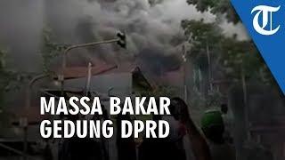 Gedung DPRD Papua Barat Dibakar, Massa: Selamat Tinggal, Sekarang Tinggal Kenangan