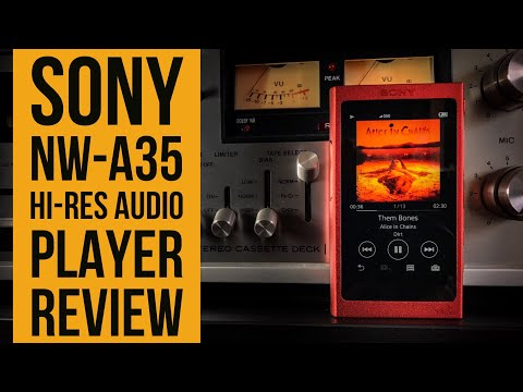 Sony NW-A35 Review! (Hi-Resolution Audio Player)
