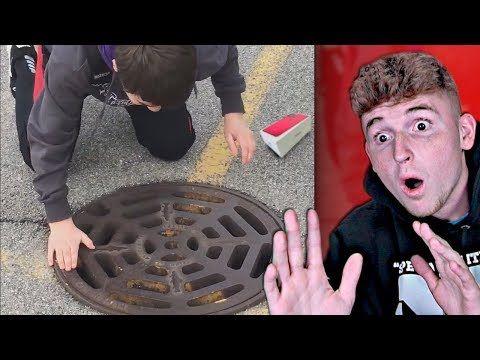 Kid Drops NEW iPHONE 11 In SEWER.. (CRIES)