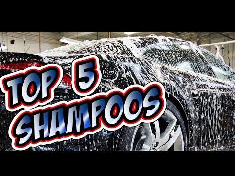 Los 5 mejores shampoos para mantener tu auto