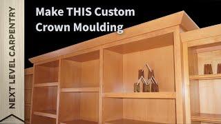 Make Custom Crown Moulding