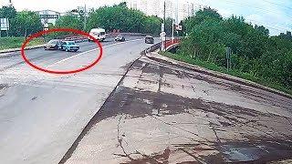 ДТП в Серпухове. Перестарался с поворотом руля... 15 мая 2018г.