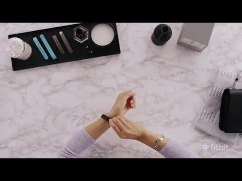 Fitbit Alta HR and Alta Gold-Plated Metal Bracelet - Video Presentation