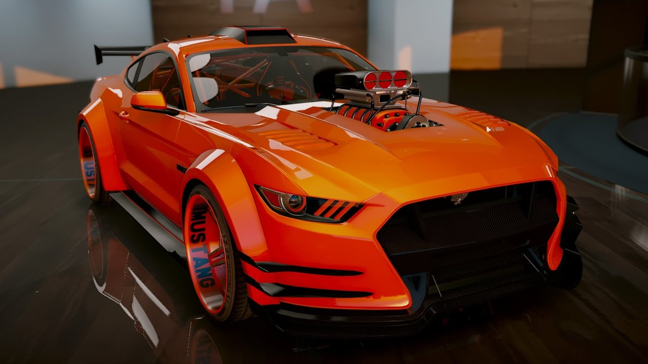 ford mustang gt add on tuning gta5