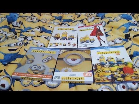 Unboxing DVD/Blu-ray Minions