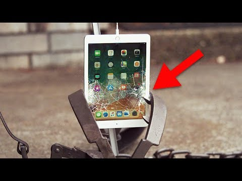 Il nuovo iPad 2018 sfida una trappola per orsi