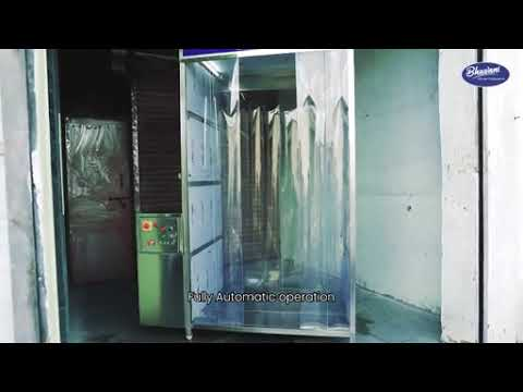 Disinfectant Booth