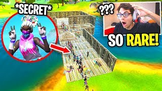 I Joined a Fortnite Fashion Show with the *SECRET* SKIN... (you can't get it anymore!)