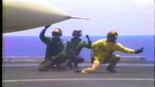 USS Abraham Lincoln Flight Ops 1991